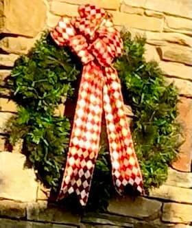 Mahaffey Front Entrance Wreath